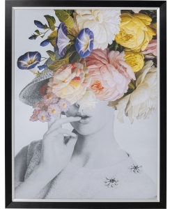 Постер Flower Lady Pastell 117X152 CM