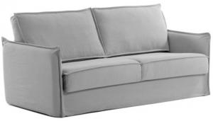 Диван кровать Samsa 182X95-220X92 CM серого цвета с вязкоупругим матрасом