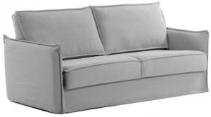 Диван кровать Samsa 182X95-220X92 CM серого цвета с полиуретановым матрасом