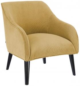 Кресло Lobby 65X75X80 CM бледно горчичное