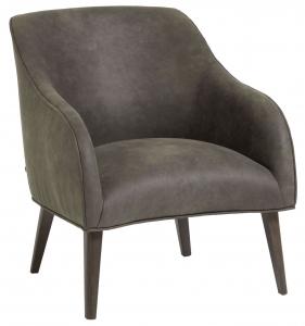 Кресло Lobby 65X75X80 CM тёмно серое