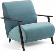 Кресло на каркасе из ясеня Marthan 77X83X78 CM бирюзовое