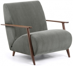 Кресло Marthan 77X83X78 CM тёмно серое