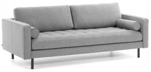 Диван Debra 180X90X103 CM светло серый