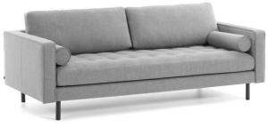 Диван Debra 222X98X103 CM серого цвета