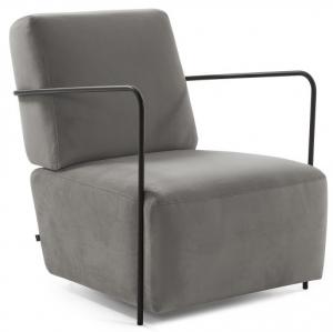 Кресло Gamer 69X80X82 CM тёмно-серое