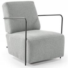Кресло Gamer 69X80X82 CM светло-серое