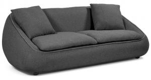 Диван в стиле 70-х Safira 200X100X75 CM тёмно-серый