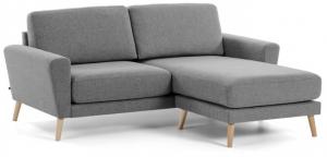 Угловой диван Guy 192X160X88 CM светло-серый