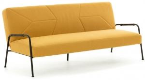 Диван-кровать Neiela 186X81-107X79 CM горчичного цвета