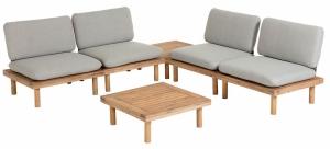 Комплект садовой мебели Viridis из 4 кресел и 2 столиков