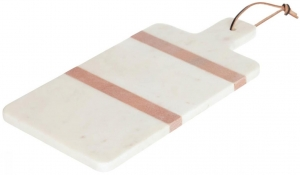Сервировочная доска из мрамора Jesiah 41X20 CM