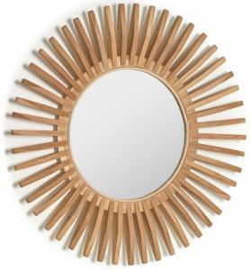 Зеркало в раме из тика Ena Ø79 CM