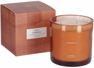 Свеча ароматическая Citronella 9X9X10 CM