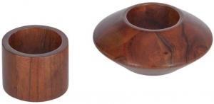 Набор колец для салфеток Tamar 5X5X5 / 10X10X4 CM