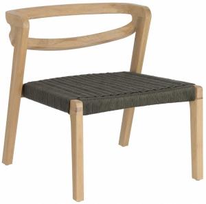 Кресло из эвкалипта Ezilda 122X62X65 CM