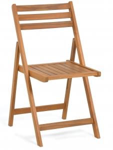 Складной стул из акации Daliana 44X47X78 CM