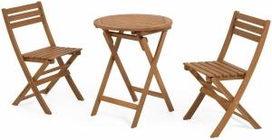 Комплект два стула и стол Elisia