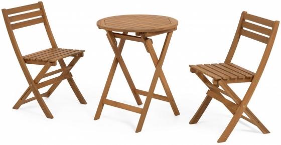 Комплект два стула и стол Elisia 1