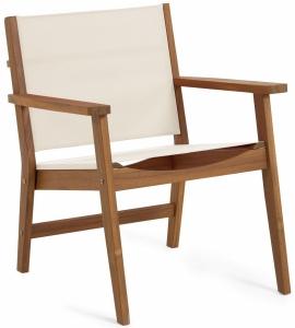 Садовое кресло из массива акации Hilda 56X66X78 CM