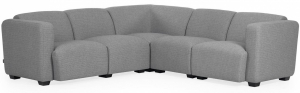 Угловой модульный диван Legara 226X226X73 CM