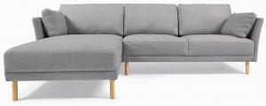 Угловой трёхместный диван Gilma 260X158X83 CM