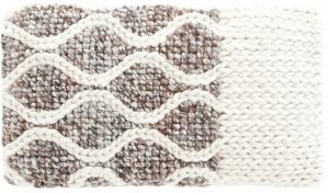 Декоративная подушка Mangas Space 60X36 CM бело-серая