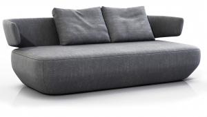 Диван Levitt 184X98X60 CM серый