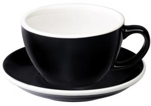 Чайная пара Egg 300 ml чёрная