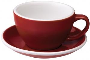 Чайная пара Egg 300 ml красная