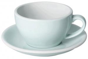 Чайная пара Egg 250 ml небесно-голубая