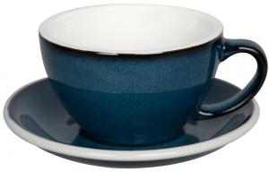 Чайная пара Egg 300 ml синяя