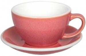 Чайная пара Egg 300 ml розовая