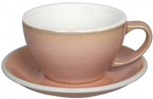 Чайная пара Egg 300 ml бледно розовая