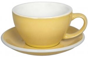 Чайная пара Egg 300 ml жёлтая