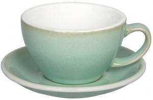 Чайная пара Egg 300 ml салатовая