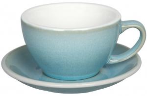Чайная пара Egg 300 ml голубая