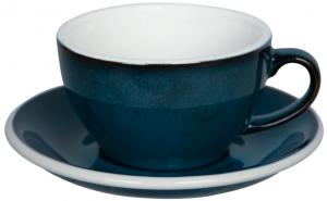 Чайная пара Egg 250 ml синяя