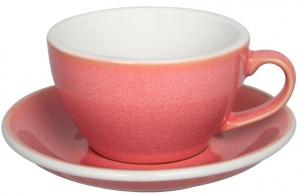 Чайная пара Egg 250 ml розовая