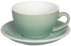 Чайная пара Egg 250 ml салатовая