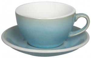 Чайная пара Egg 250 ml голубая