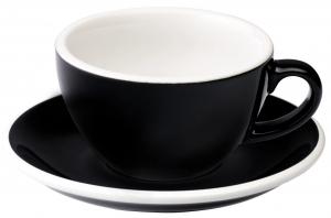 Кофейная пара Egg 200 ml чёрная