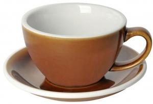Чайная пара Egg 300 ml карамельная