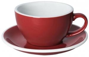 Чайная пара Egg 250 ml красная