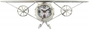 Часы настенные из металла Aviator 60X20X15 CM