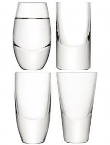 Набор из 4 стопок для водки Lulu 52-55 ml
