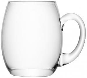 Кружка для пива высокая округлая Bar 500 ml