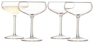 Набор из 4 бокалов для шампанского Wine 215 ml