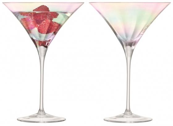 Набор из 2 бокалов для коктейлей Pearl 300 ml 1