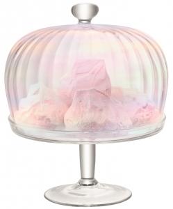 Подставка для торта с крышкой pearl 26X26X33 CM